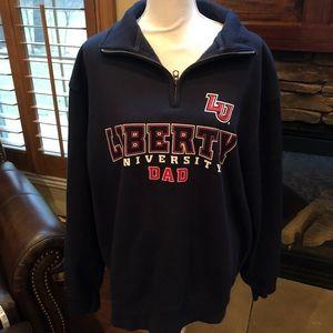 04e9e3e4 Jansport Shirts | Liberty University 14 Zip Size Xl | Poshmark